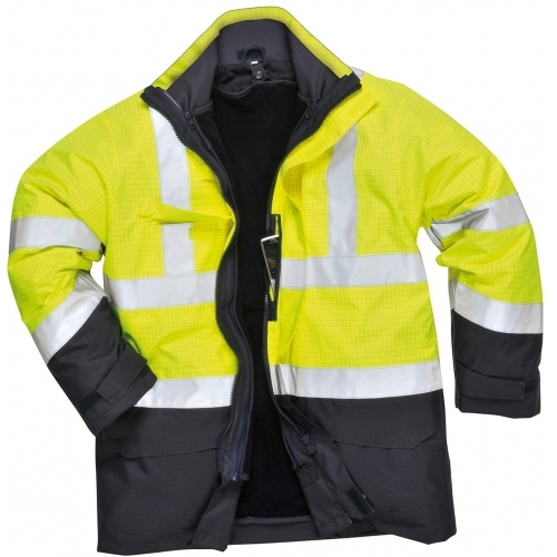 Portwest Bizflame Rain Hi-Vis Multi-Protection Jacket