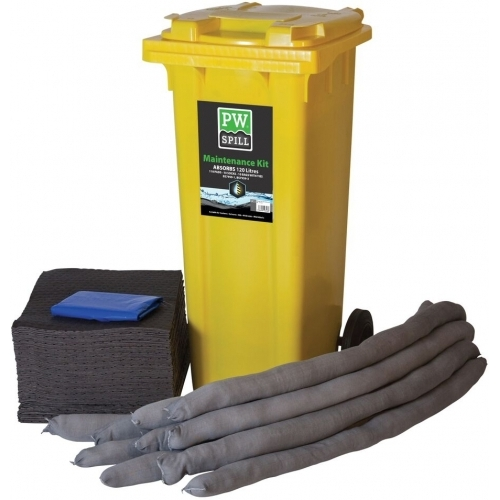Portwest Spill 120 Litre Maintenance Kit #1