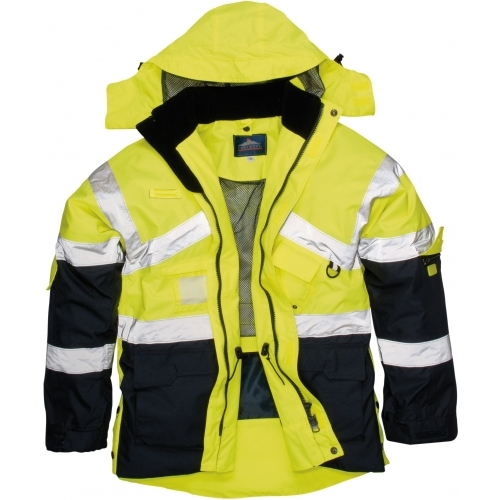 Portwest Reversible Jacket Hi-Vis 2-Tone 300D