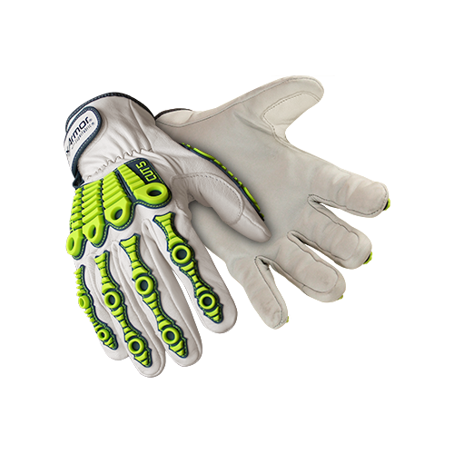 HexArmor® Gloves Leather Impact 4080