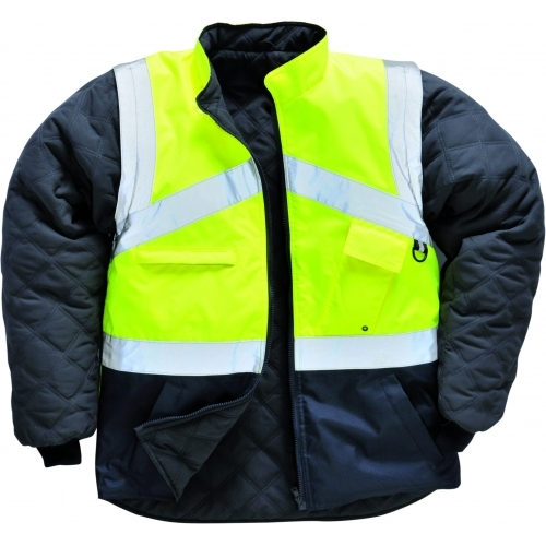 Portwest HI VIS 2 Tone Reversible Jacket