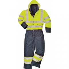 Portwest Contrast Coverall - Lined