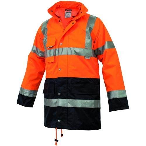 Two Color Parka Jacket Siggi Group