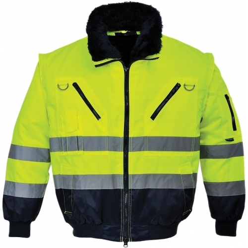 Portwest HI VIS 3 in 1 Pilot Jacket