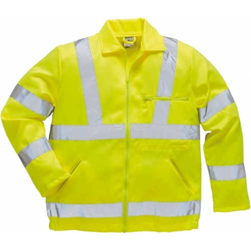 Portwest Hi-Vis Poly-Cotton Jacket