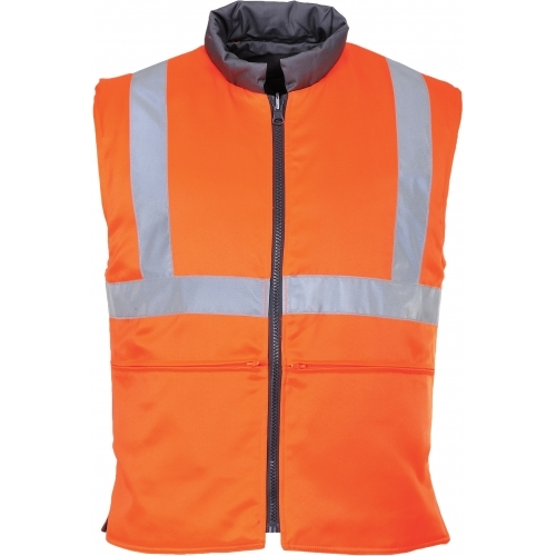Portwest Hi-Vis Reversible Thermal Vest GO/RT