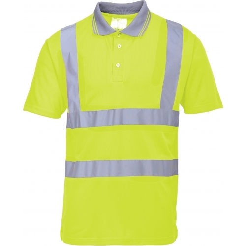 Portwest Hi-Vis Polo Shirt S477