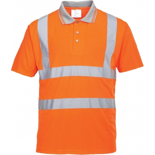 Portwest HI VIS GO/RT Short Sleeve Polo T-Shirt
