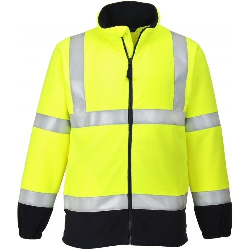 Portwest Fleece Flame Resistant, Anti Static FR31 HI VIS Portwest