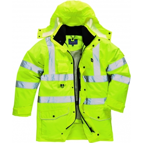 Jacheta Portwest Traffic Hi-Vis 7-in-1