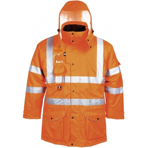 Jacheta Portwest Traffic Hi-Vis 7-in-1, GO/RT