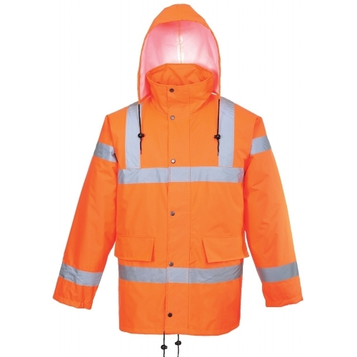 Portwest Jacket Breathable Hi VIS GO/RT