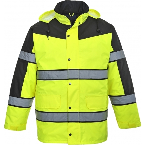 Portwest Jacket Classic HI VIS Two Tone