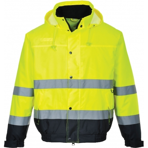 Portwest Jacket Bomber HI VIS Two Tone