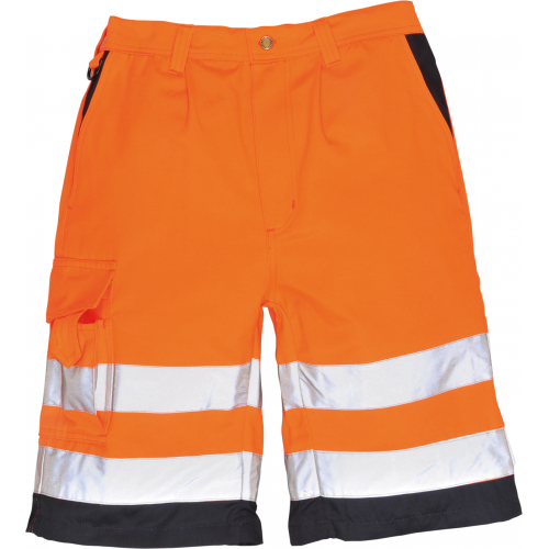 Portwest Shorts Hi Vis Poly-Cotton