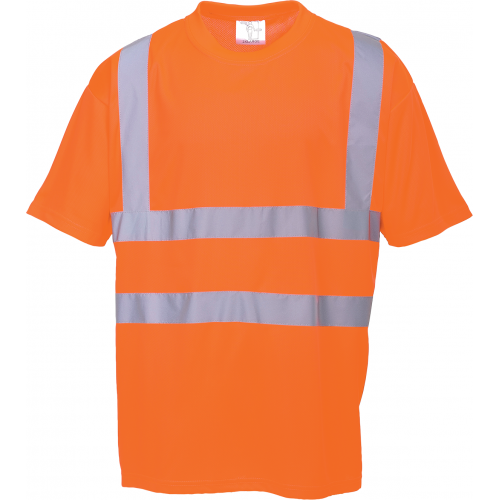 Portwest T-Shirt HI VIS GO/RT