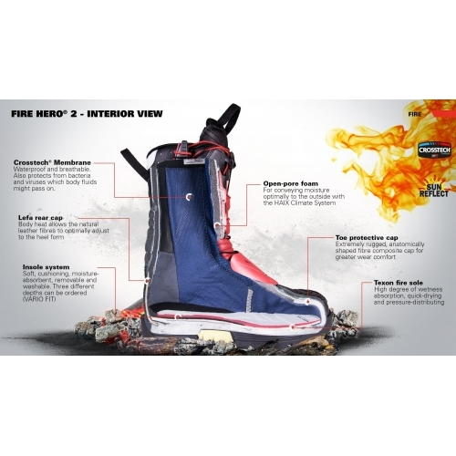 HAIX Fire Hero 2 Ankle Shoes #3