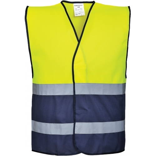 Portwest Vest Hi-Vis Two Tone