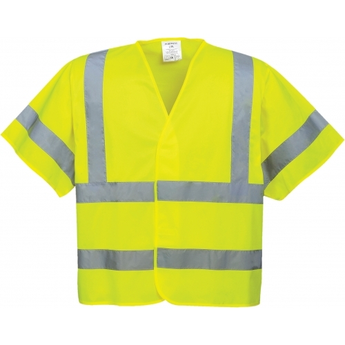 Portwest Vest with short sleeves HI VIS