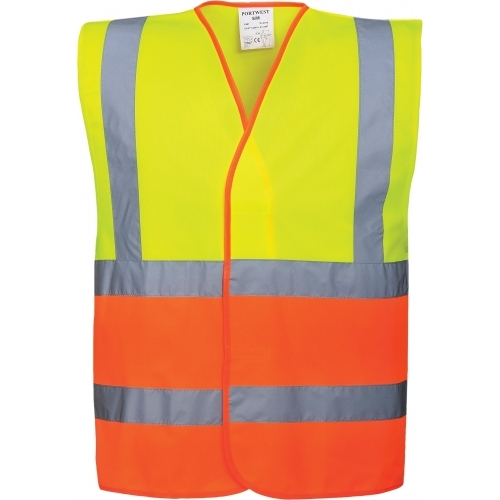 Portwest Vest Hi Vis Two Tone