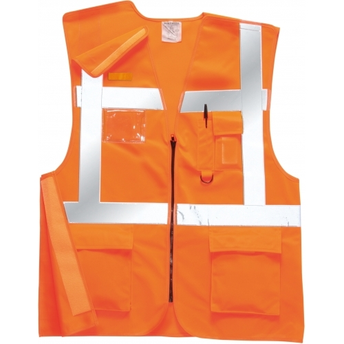 Portwest Vest Executive Rail GO/RT