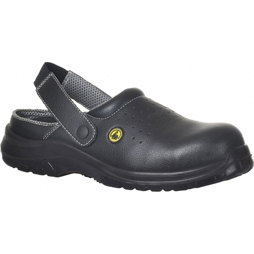 Portwest Perforated Safety Clog Compositelite™ ESD SB AE