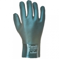 Portwest Gloves Double Dipped PVC, 27cm