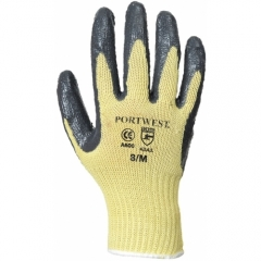 Portwest Gloves with grip Nitrile Cut 3