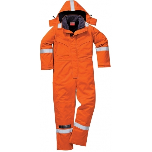 Portwest Fireproof, Anti-Static Winter Coverall FR53
