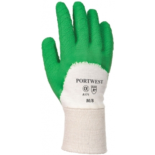 Portwest Gloves Latex Crinkle Open Back