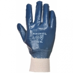 Portwest Gloves Nitrile Knitwrist