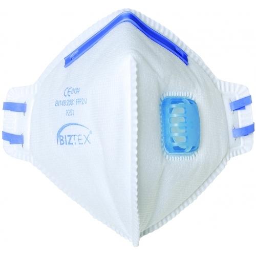 Dispozitiv de Protectie Respiratorie Portwest FFP2 Valved Dus Mist Fold Flat