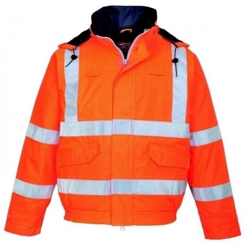 Jacheta de ploaie HI VIS Portwest Bizflame